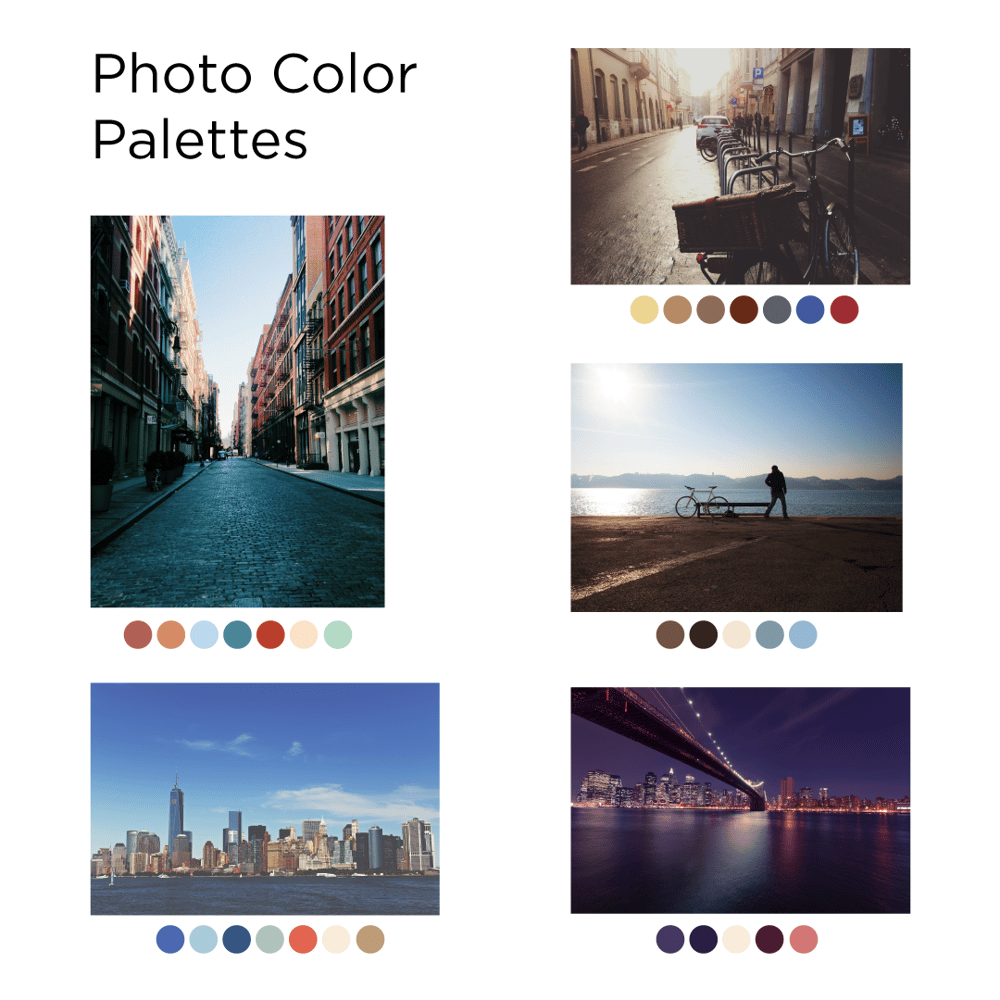BikeBook Color Palette & Creative Process - image 2 - student project