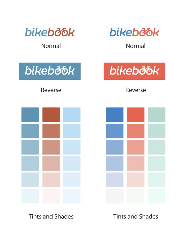 BikeBook Color Palette & Creative Process - image 3 - student project