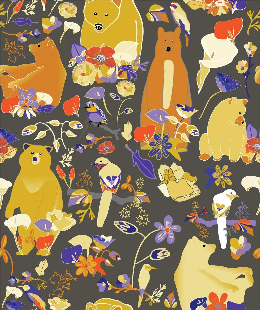 Birds and Bears, a California May - image 1 - student project