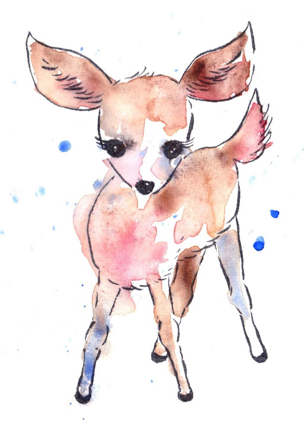 In love with a deer and very 'scary' bat ;) - image 1 - student project