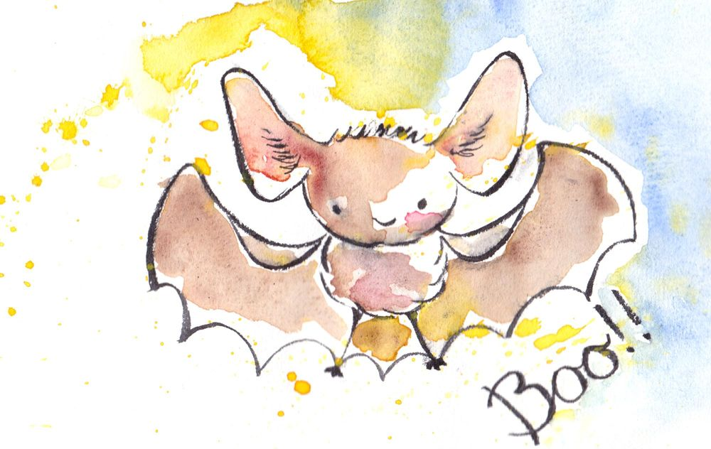 In love with a deer and very 'scary' bat ;) - image 2 - student project
