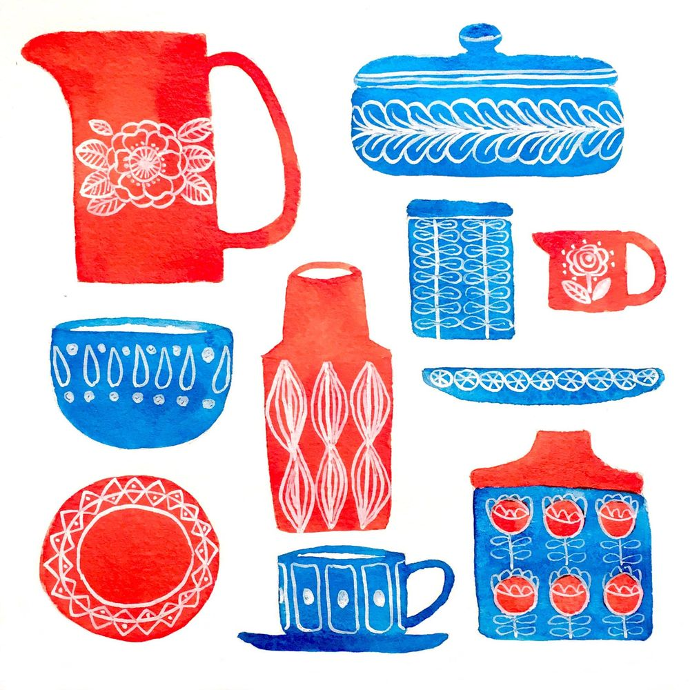 Scandinavian Kitchenware - image 1 - student project