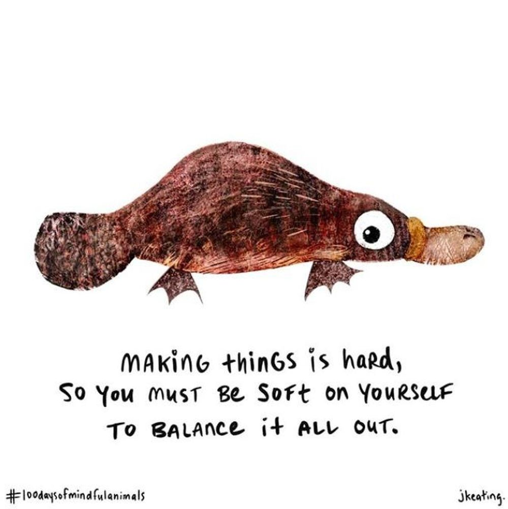 100 Days of Mindful Animals to Cheer On Your Creative Souls! - image 3 - student project