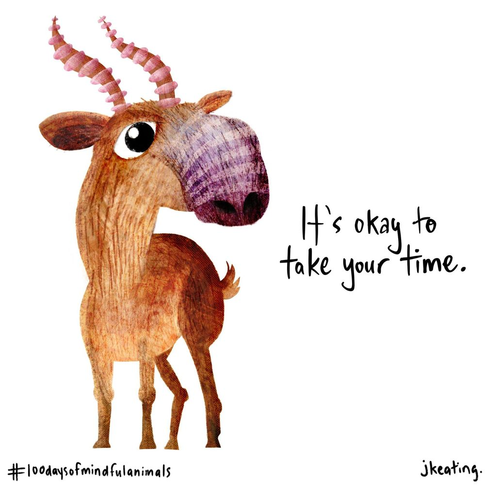100 Days of Mindful Animals to Cheer On Your Creative Souls! - image 2 - student project