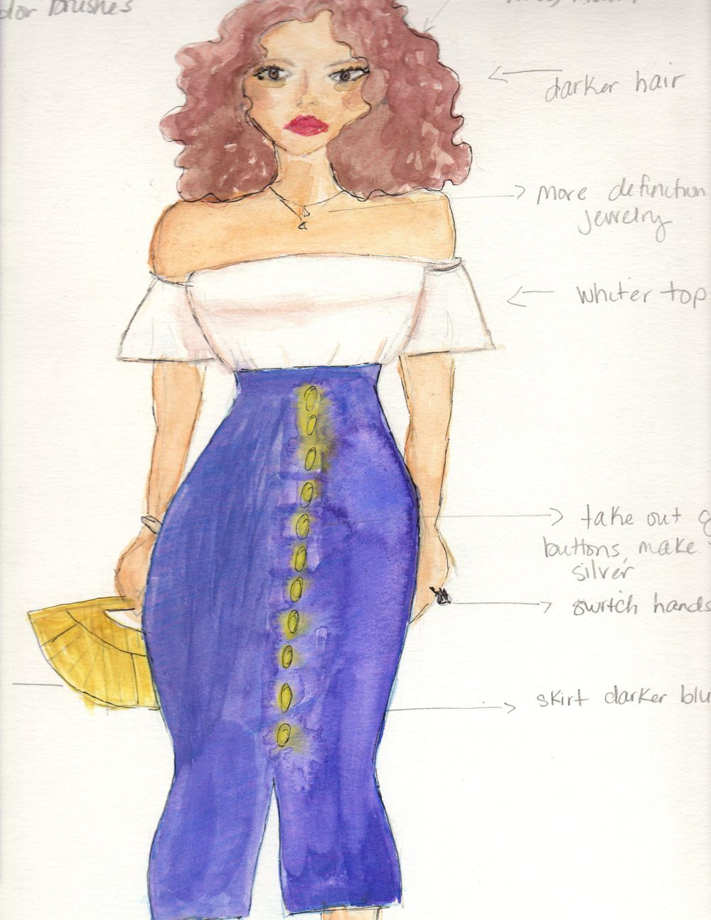 Fashion Illustration for Beginners  - image 2 - student project