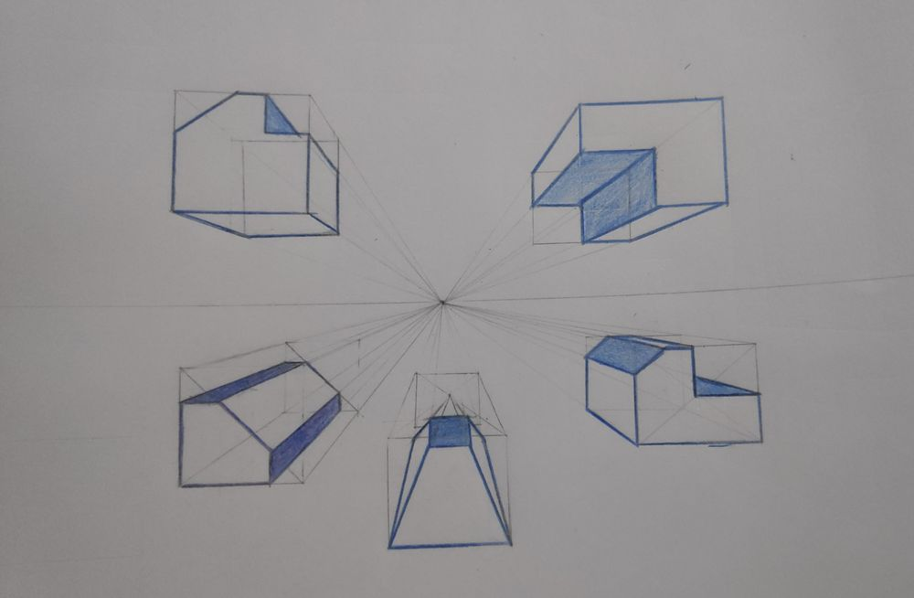 Perspective Basics for 3D Sketching - image 1 - student project