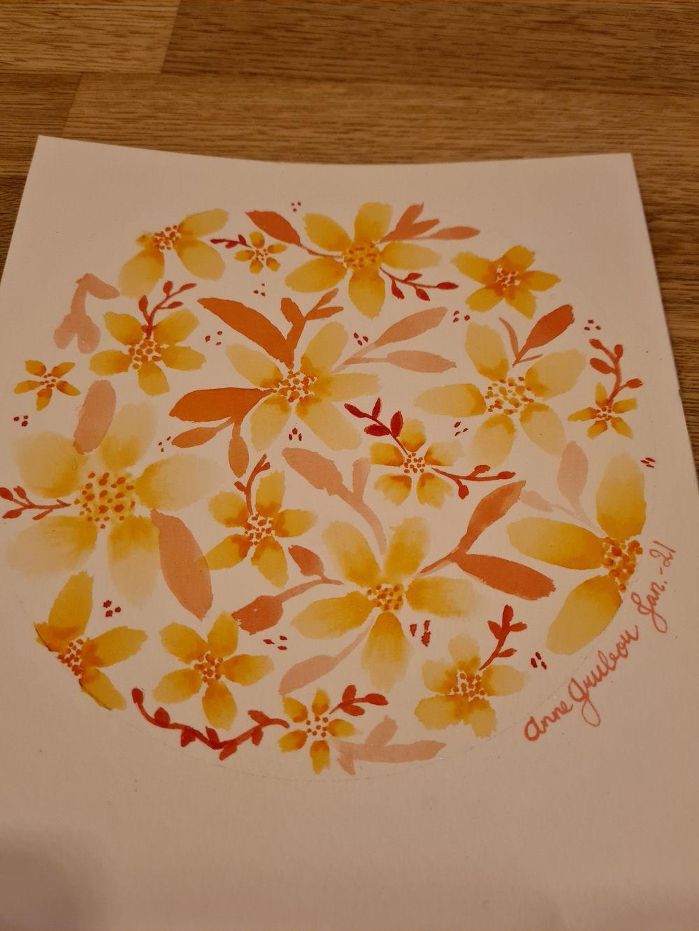Five petal flower - image 2 - student project
