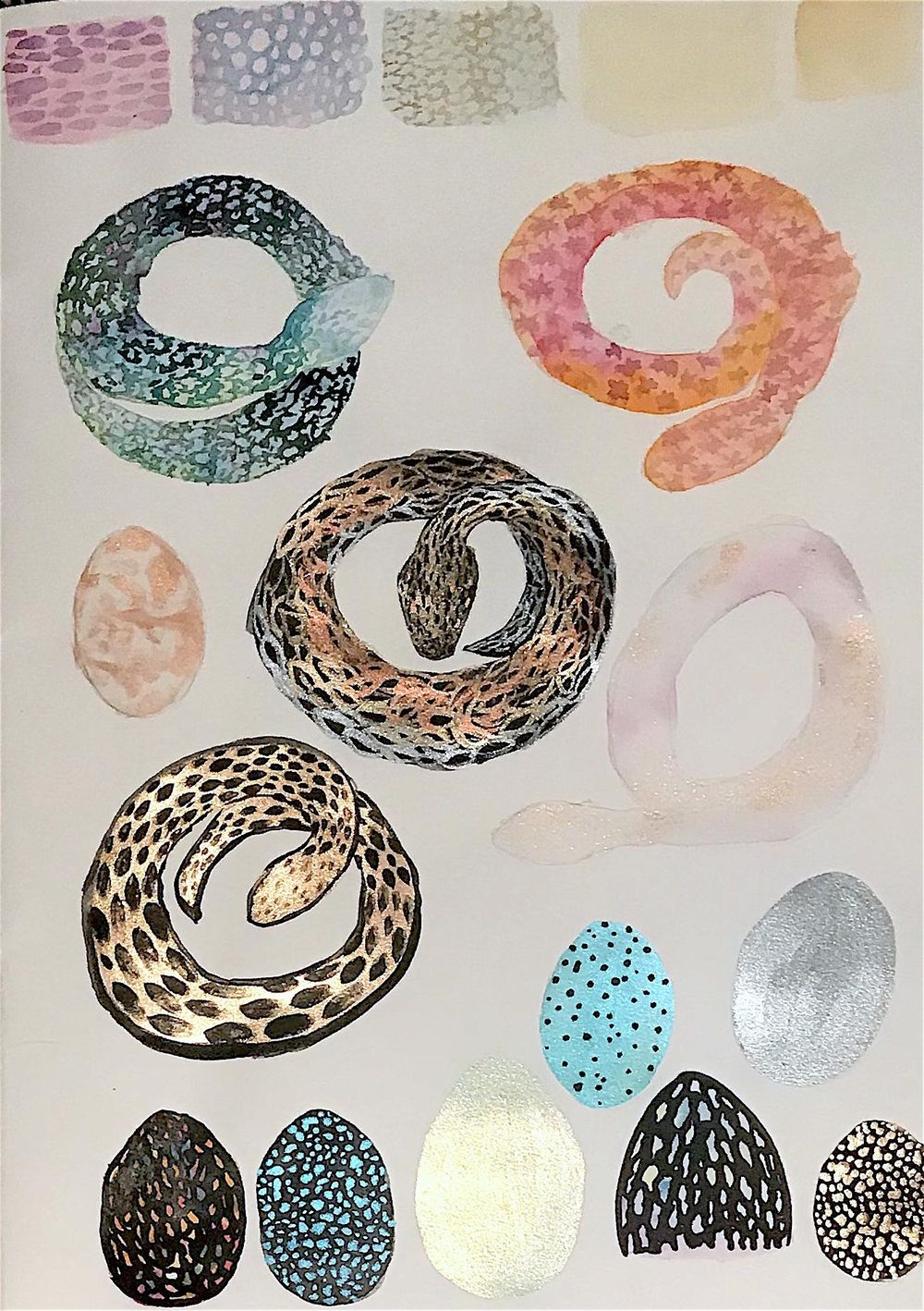 Metallic pythons and eggs - image 3 - student project