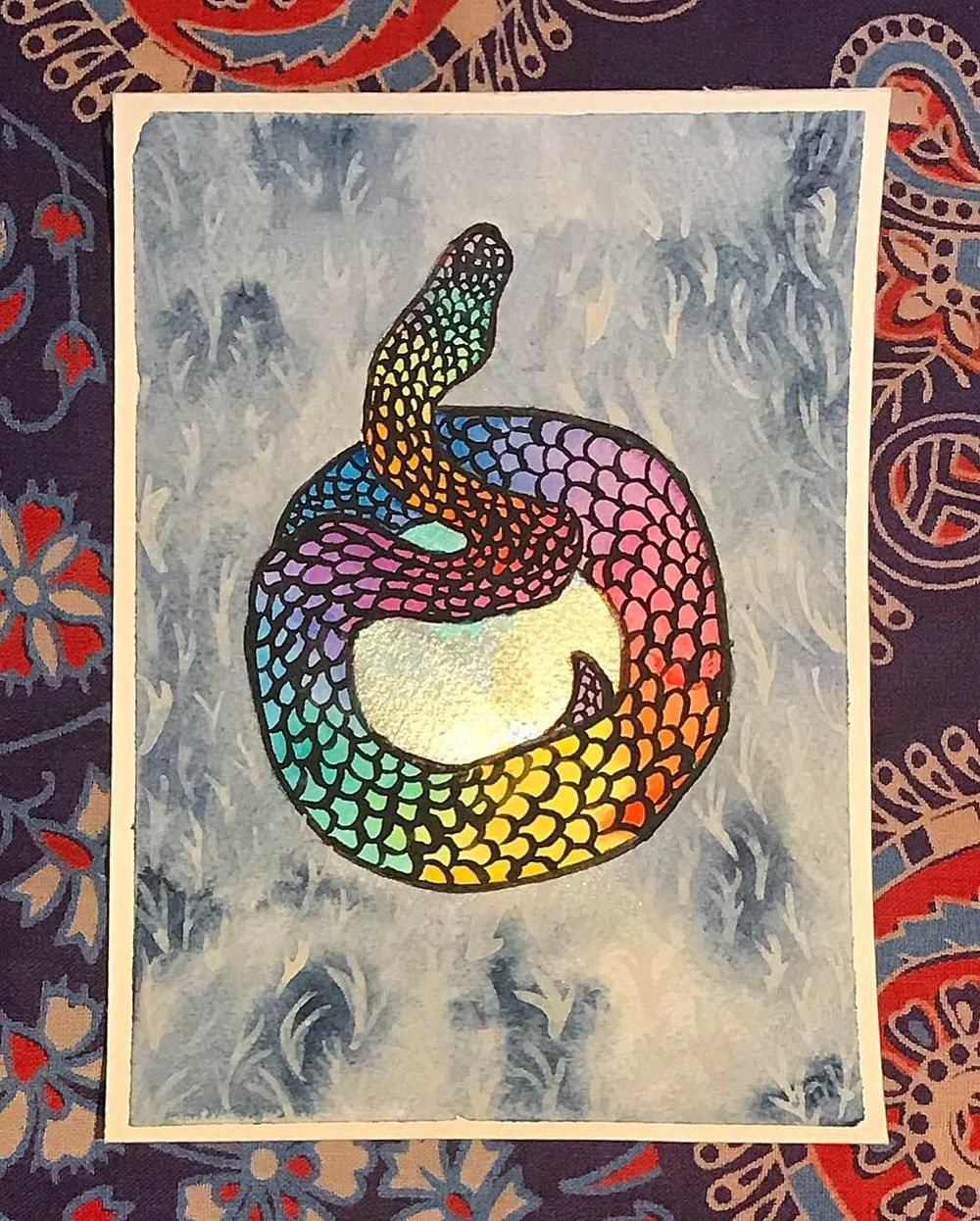 Metallic pythons and eggs - image 5 - student project