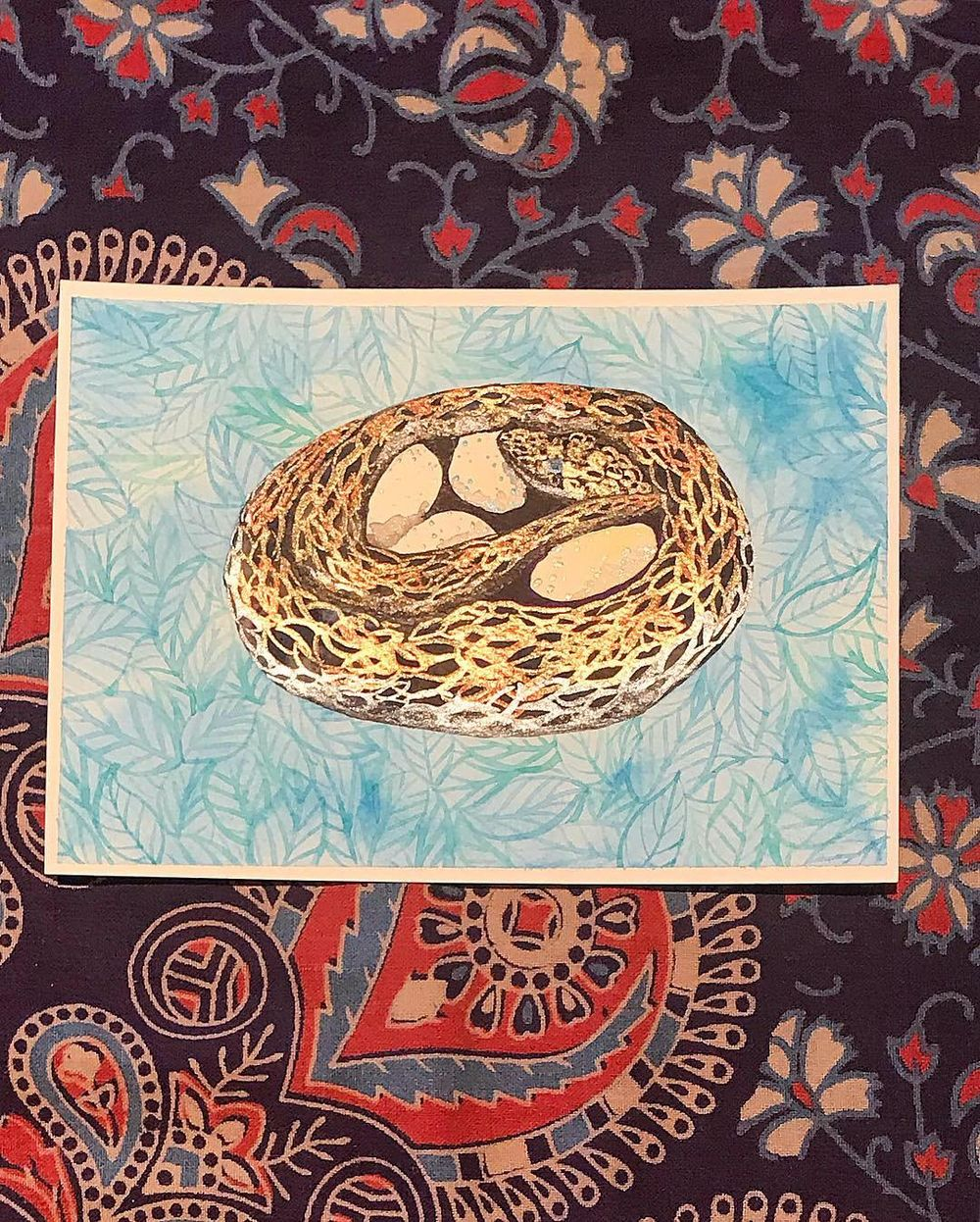 Metallic pythons and eggs - image 6 - student project