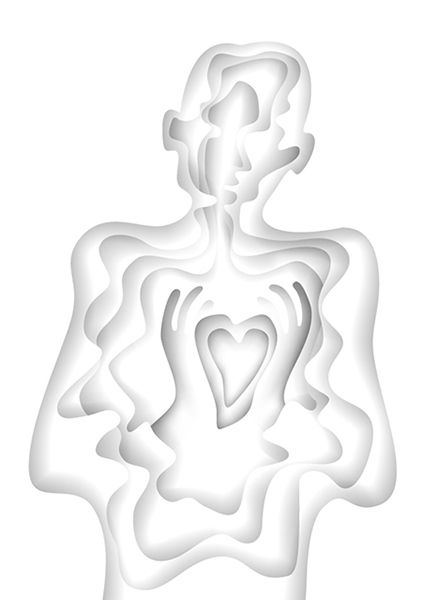 Man with heart - image 2 - student project
