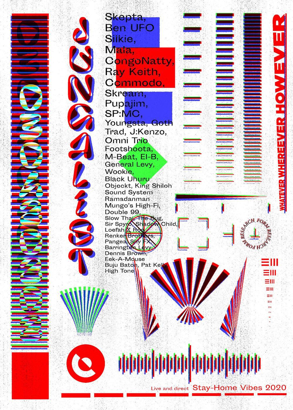 Photocopier Jungle Festival Flyer - image 1 - student project