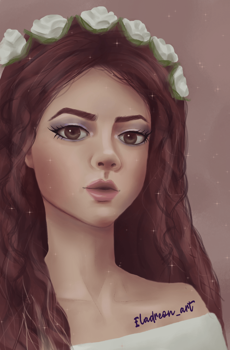 Girl portrait - image 1 - student project