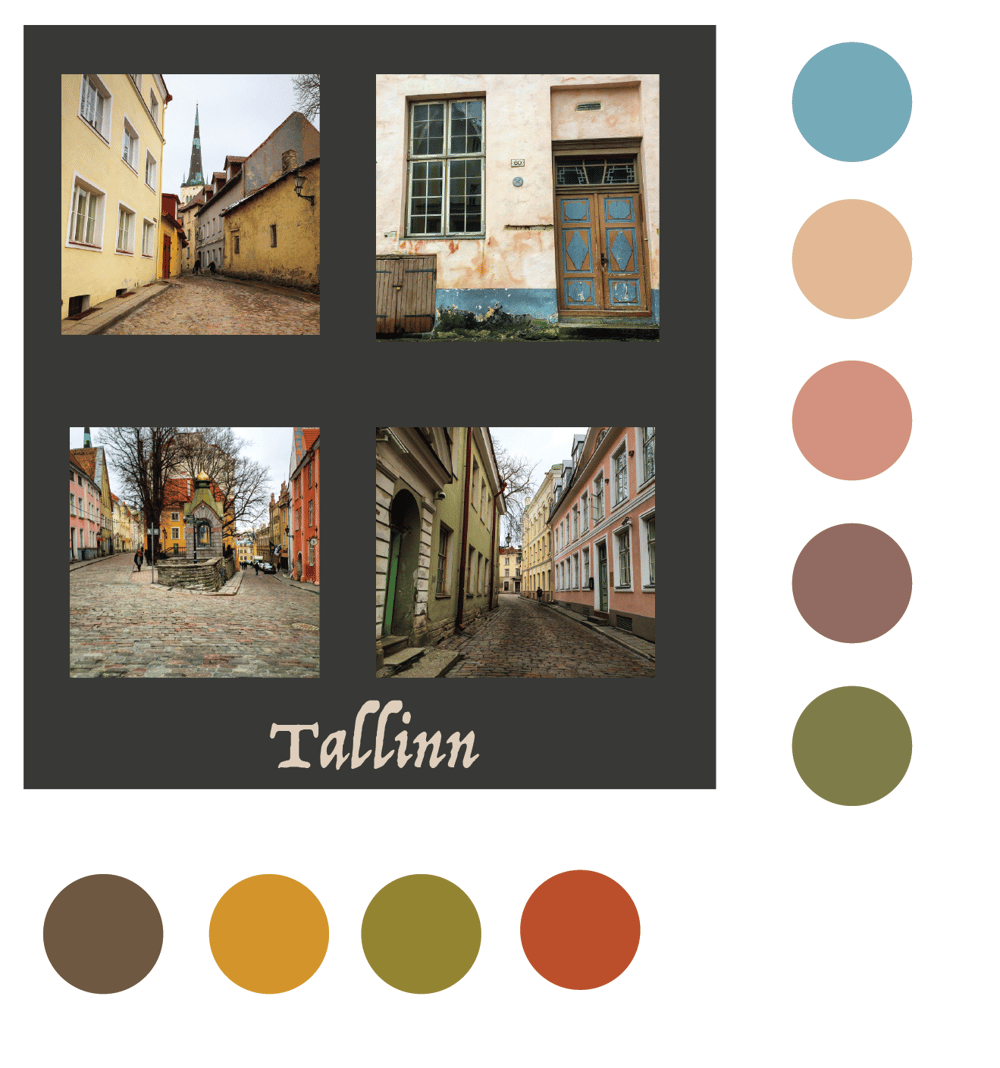 Colors of Tallinn - image 1 - student project