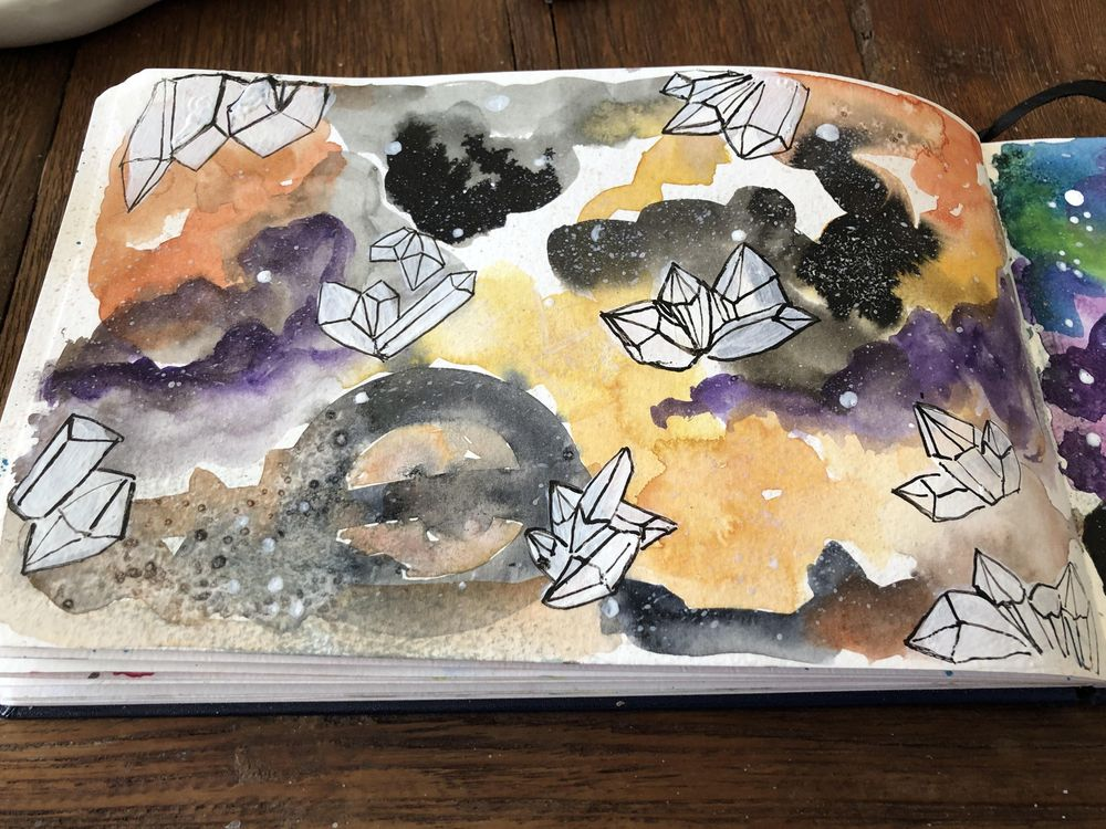 Watercolor experiments - image 6 - student project