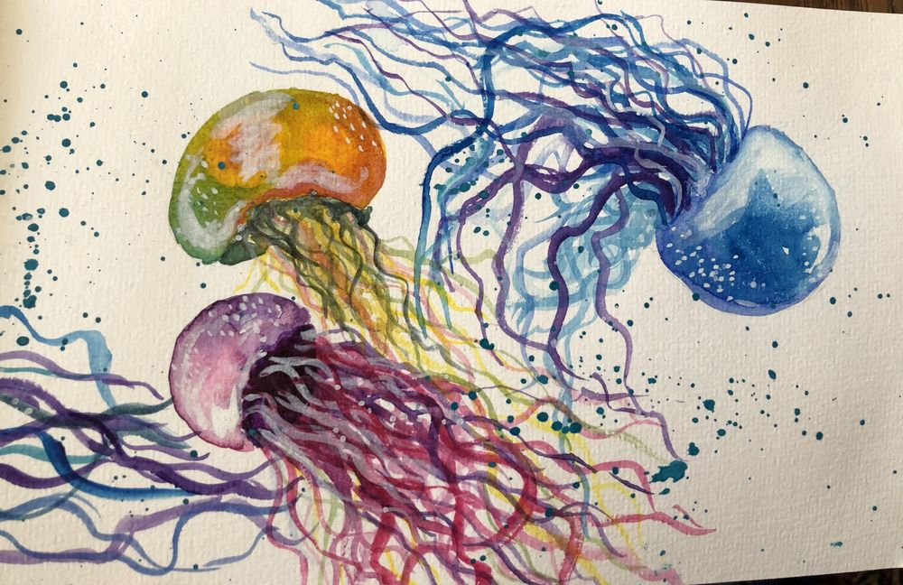 Watercolor experiments - image 4 - student project