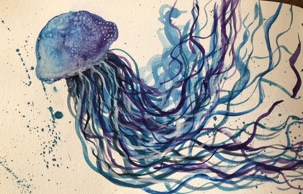 Watercolor experiments - image 3 - student project