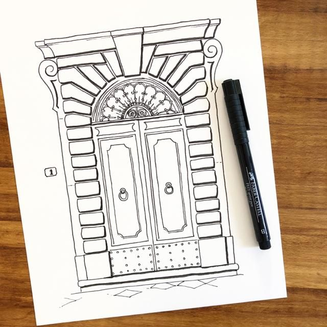 Door #3 (and #6 preview) - image 2 - student project