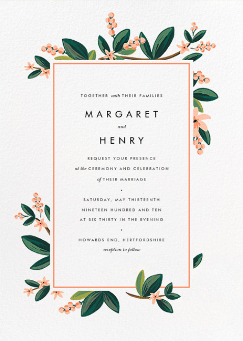 May Wedding Invites - image 6 - student project