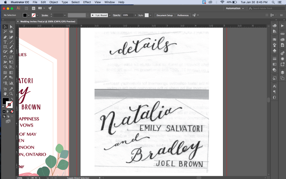 May Wedding Invites - image 11 - student project