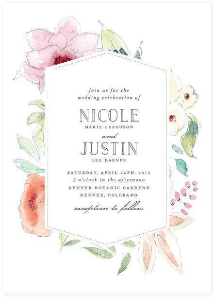 May Wedding Invites - image 3 - student project