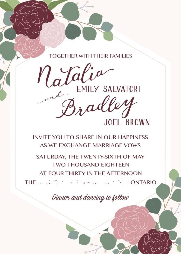 May Wedding Invites - image 13 - student project