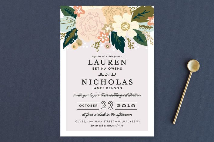 May Wedding Invites - image 5 - student project