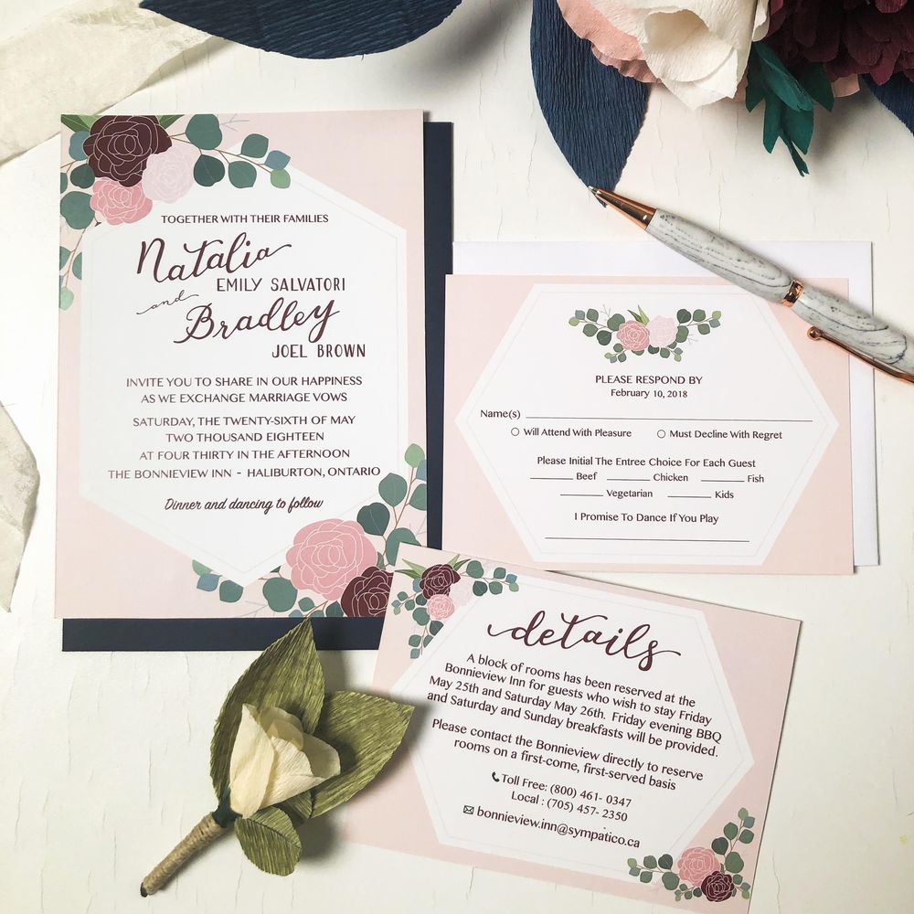 May Wedding Invites - image 19 - student project