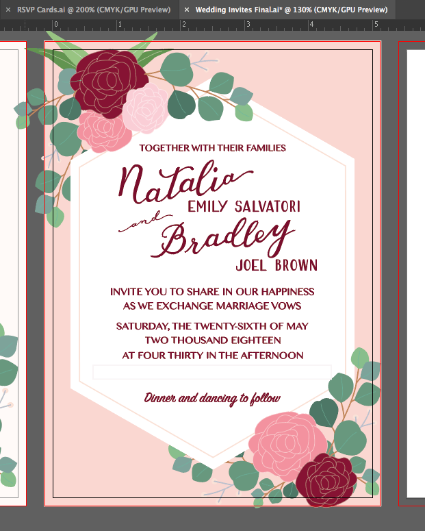 May Wedding Invites - image 16 - student project