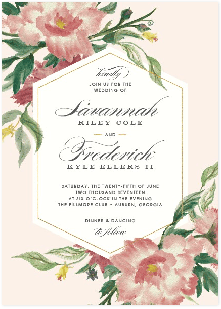 May Wedding Invites - image 4 - student project
