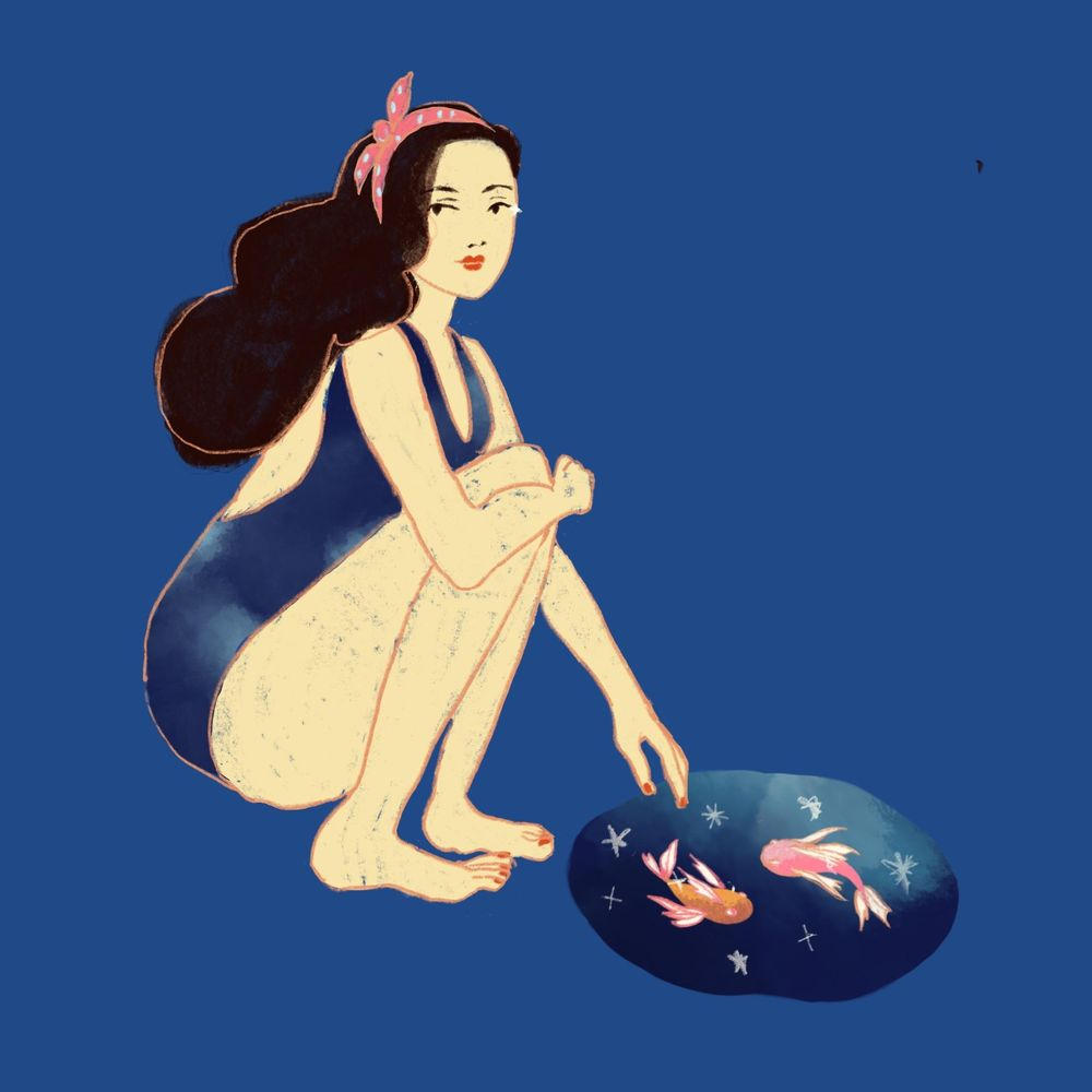 pisces girl - image 4 - student project