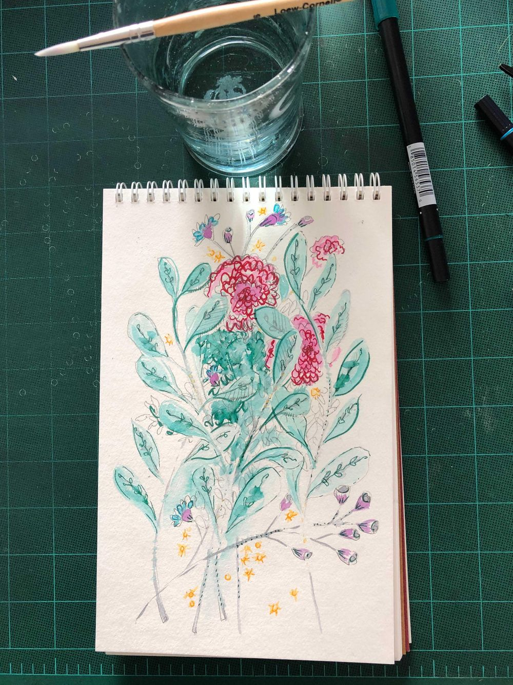 Making my own expressive florals - image 1 - student project
