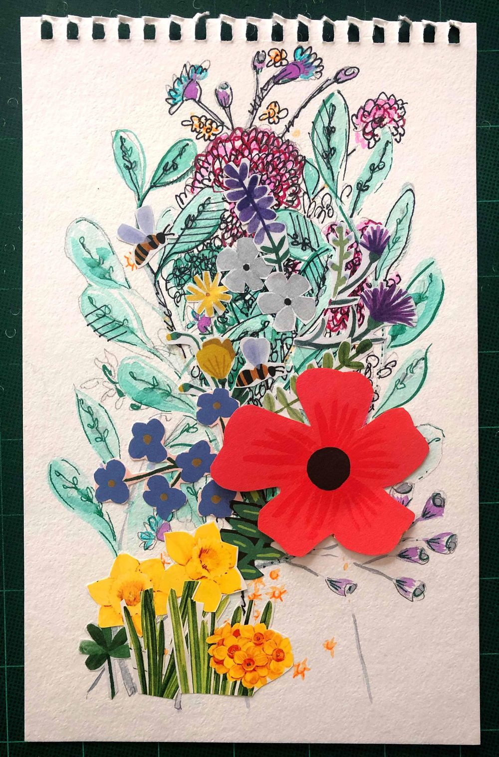 Making my own expressive florals - image 4 - student project