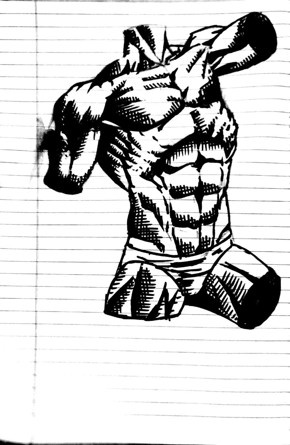 male torso - image 3 - student project