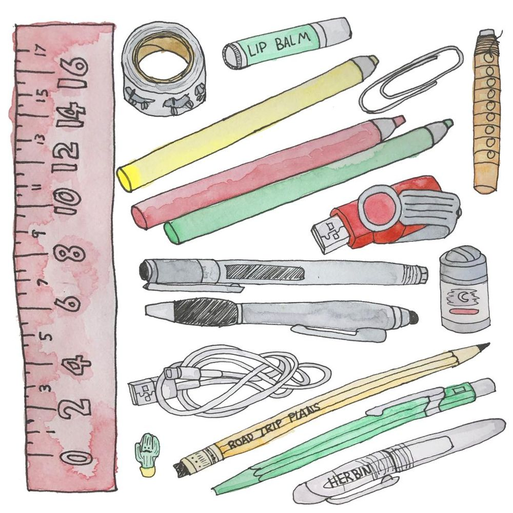 Everything in my pencil case - image 2 - student project