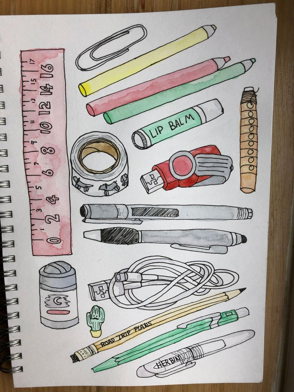 Everything in my pencil case - image 1 - student project