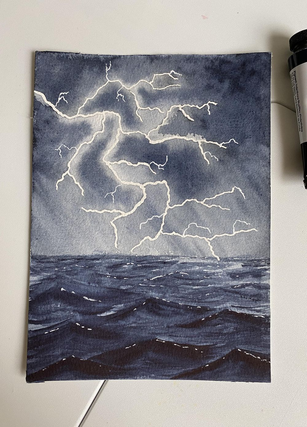 Stormy seas - image 1 - student project