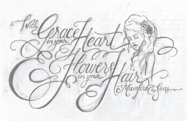 """""""With Grace in your Heart and Flowers in your Hair"""" - image 9 - student project"""