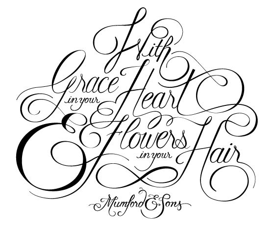 """""""With Grace in your Heart and Flowers in your Hair"""" - image 1 - student project"""