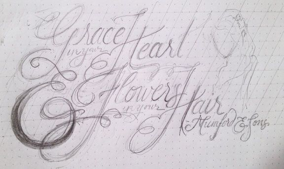 """""""With Grace in your Heart and Flowers in your Hair"""" - image 8 - student project"""