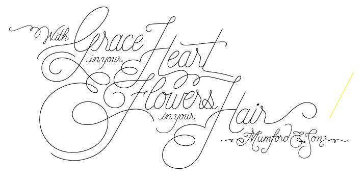 """""""With Grace in your Heart and Flowers in your Hair"""" - image 3 - student project"""