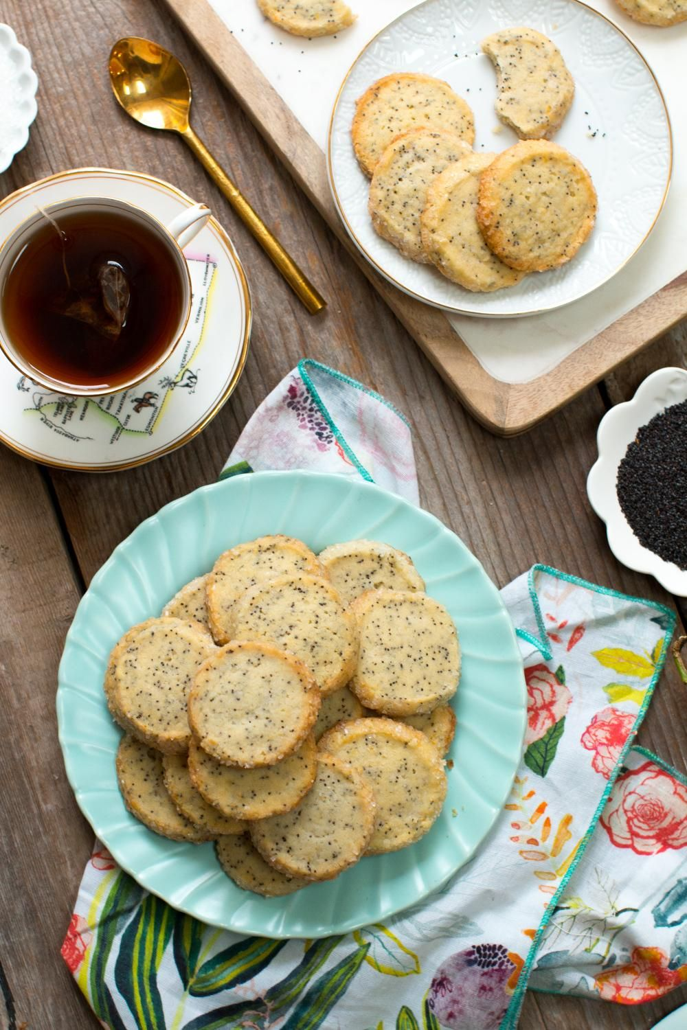 Example Project: Lemon Poppy Seed Shortbread Cookies - image 4 - student project