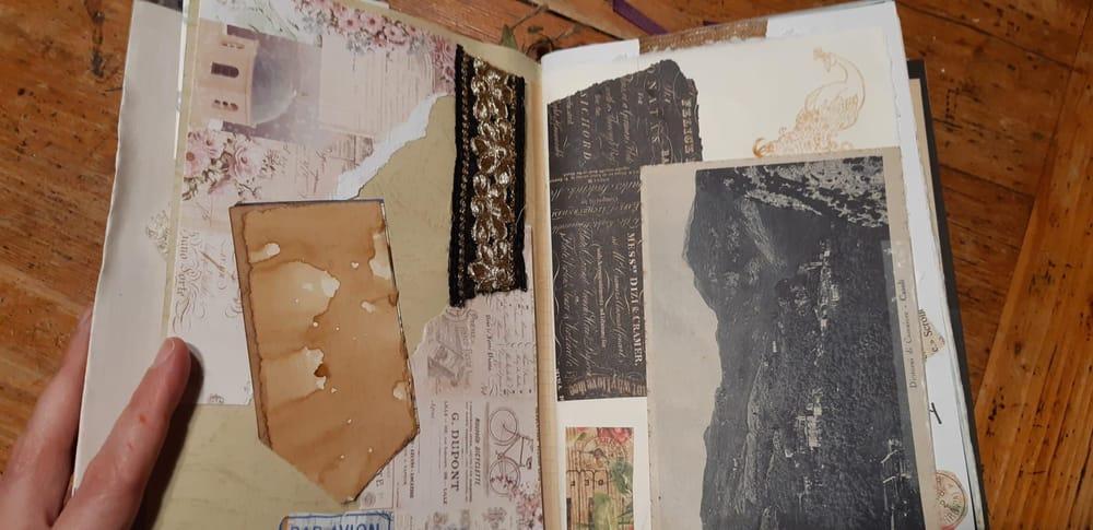 Junk Journal: memories - image 4 - student project