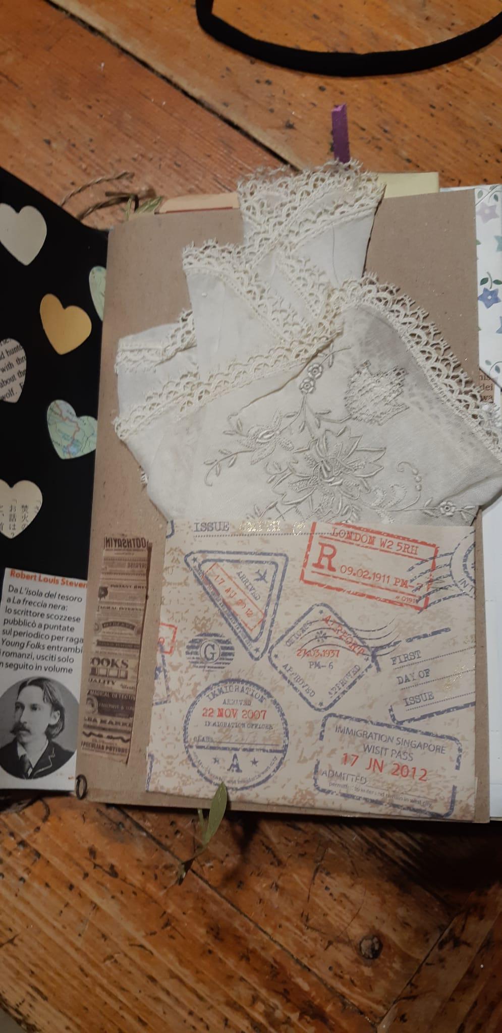 Junk Journal: memories - image 6 - student project