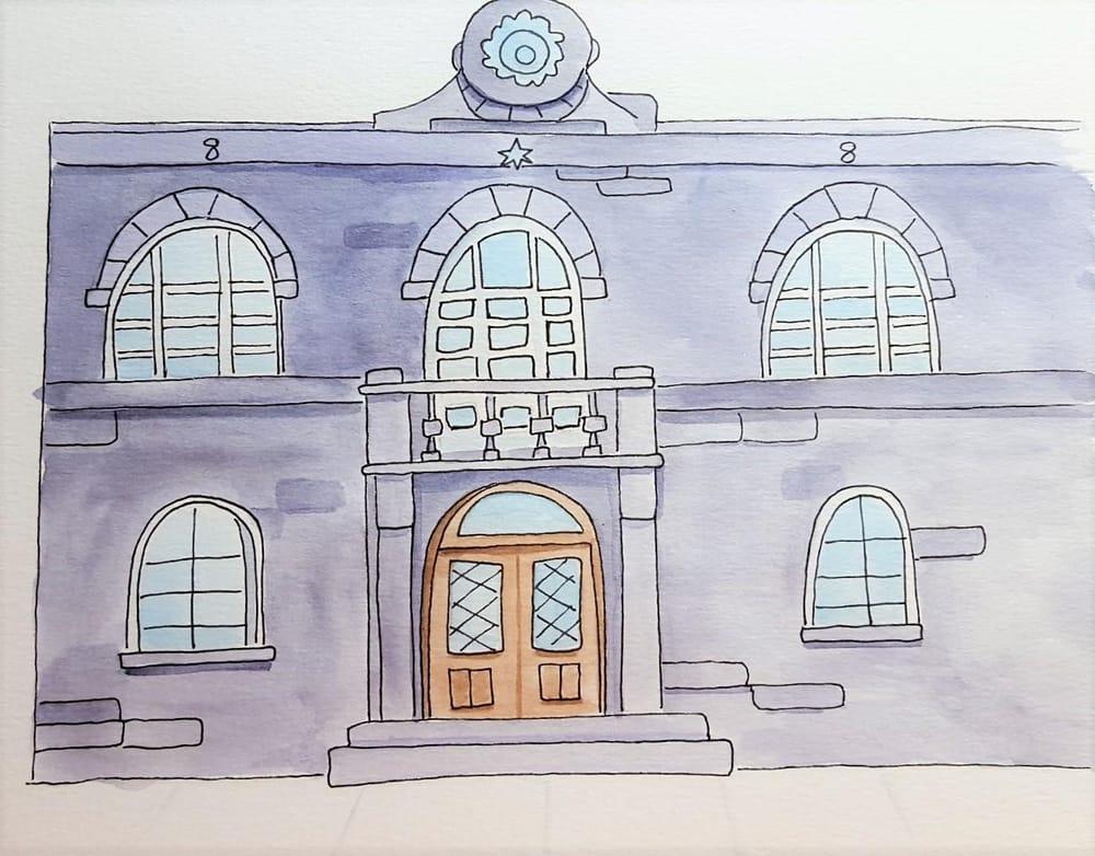 Parliament House, Reykjavik - image 1 - student project
