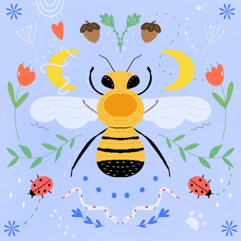 Honey Bee - image 1 - student project