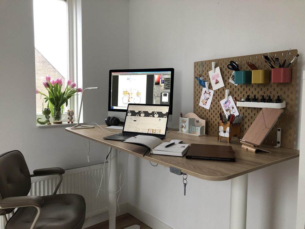 My workspace - image 3 - student project