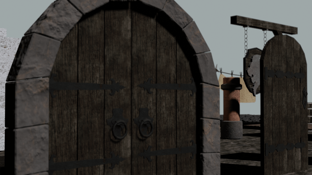 Escena Medieval - image 1 - student project