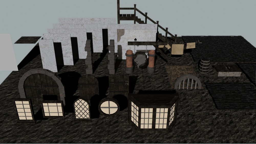 Escena Medieval - image 4 - student project