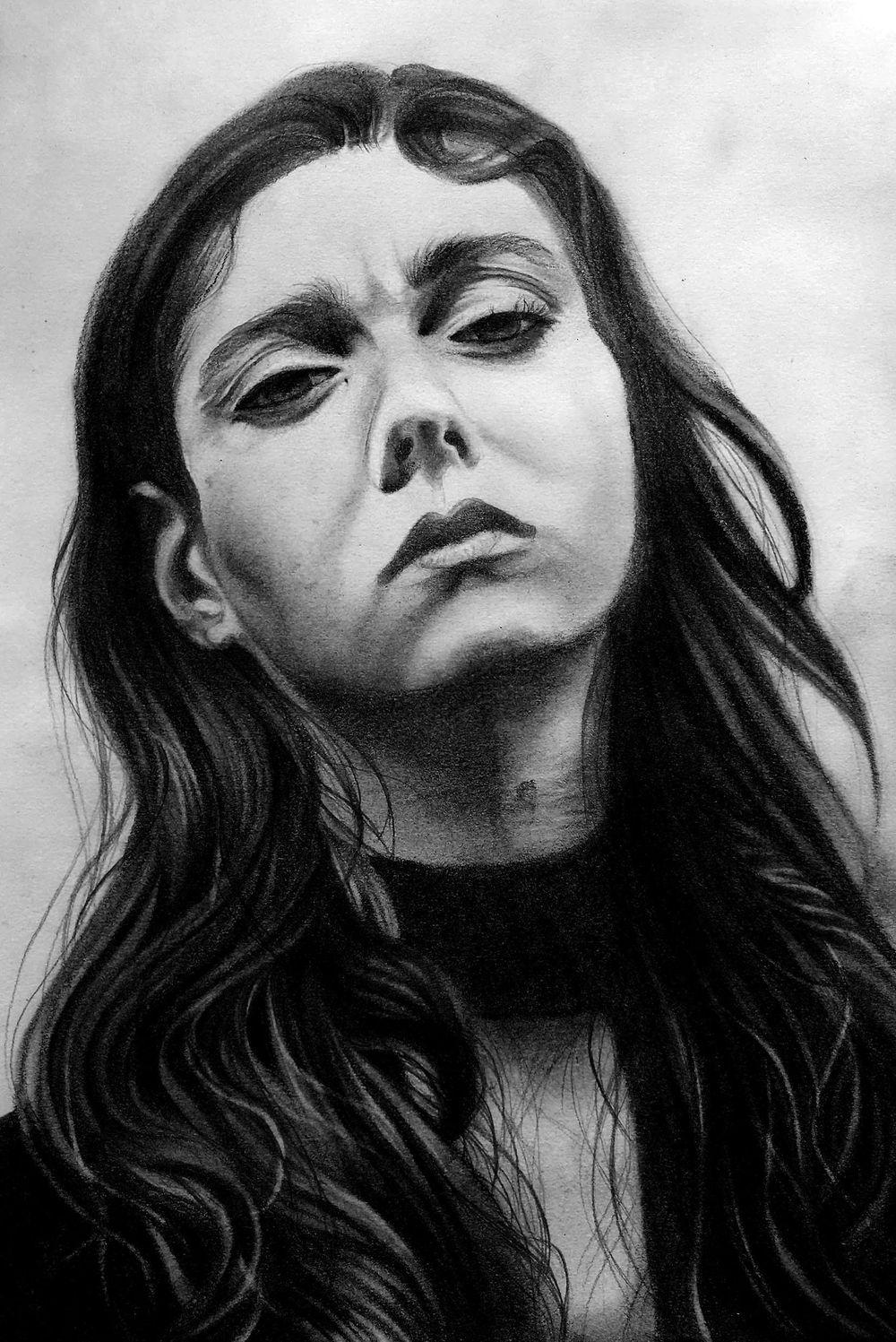 Pencil Portrait - practice - image 2 - student project